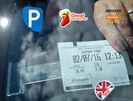 Tikettak Car, Van & Caravan Windscreen Permit/ticket Holder Avoid Parking