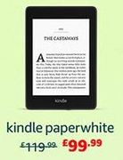 £20 off Kindle Paperwhite at AMAZON