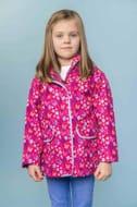 Fleur Coat - Butterfly Print. Waterproof Children's Coat.
