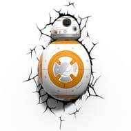 Star Wars the Force Awakens Bb-8 3d Light