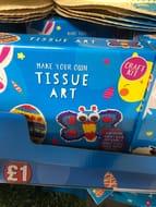 Poundland - Tissue Easter Art