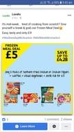 Frozen Meal Deal - 46% Off