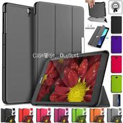 "Stand Leather Magnetic Smart Case Cover for Samsung Galaxy Tab S3 9.7"" SM-T820"