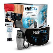 Ab Flex Ab Toning Belt for Slender Toned Stomach Muscles - 20% Off