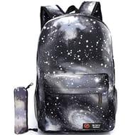 Global I Mall Unisex Galaxy School Backpack