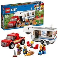LEGO 60182 City Great Vehicles Pickup & Caravan Playset
