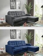 Soho Fabric Corner Sofa - 3 Colours!