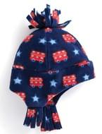 Jojomamanbebe Printed Polarfleece Pixie Hat