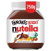 Nutella 750g at Morrisons Only £3.5
