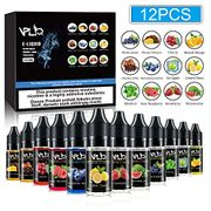 12pcs X 10ml Vape E Liquid No Nicotine