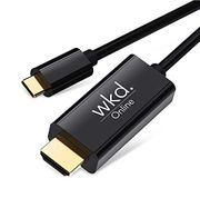 Half Price USB C to HDMI Cable for phones and laptops connect to TV