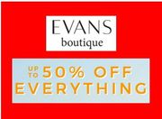 Evans plus Size Clothing - up to 50% off + extra 10%
