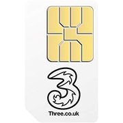 Three SIM Only 17%off