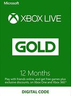 12 Month Xbox Live Gold Membership (Xbox One/360) - UK