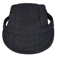 Adjustable Dog Baseball Cap Fashionable Dog Sun Hat with Ear Holes