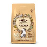 Lily's Kitchen Delicious Chicken Complete Natural Dry Food for Cats, 2 Kg