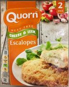 Quorn Meat Free Cheese & Leek Escalopes