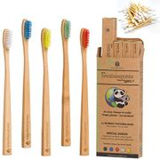 ECO DEAL! Grab FREE Bamboo Cotton Buds + Each Bamboo Toothbrush £1.59 Each