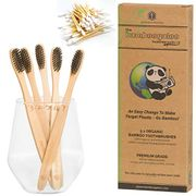 ECO DEAL! Grab FREE Bamboo Cotton Buds + £1.59 per Bamboo Toothbrush RRP £20