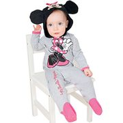 Amscan Dress up DCMIN-RJ00 Minnie Mouse Romper Jersey Costume, 0-3 Months