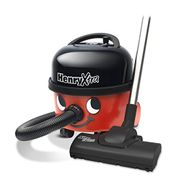 Henry Xtra HVX200 Bagged Cylinder Vacuum, 9 Litre, 620 Watt, Red