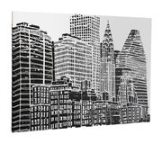 New York' Framed Photographic Print on Canvas - Save 36%