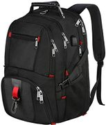 Laptop Backpack, Water Resistant Computer Rucksack with USB Charging Port