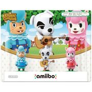 Amiibo Animal Crossing 3 Pack - Reese, K.K. Slider, Cyrus