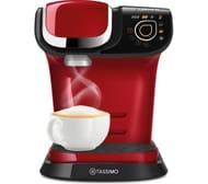 TASSIMO by Bosch My Way Coffee Machine - White/Black/Red