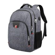 Anti-Theft Business Laptop Backpack Bag with USB Charging Port Water Resistant