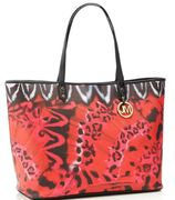 Star by Julien Macdonald - Pink Butterfly Print Shopper Bag - HALF PRICE