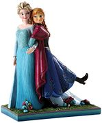 Disney Traditions Elsa and Anna Figurine