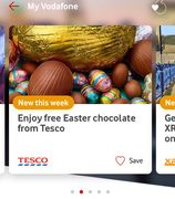 Free Easter Egg from Tesco with Vodafone VeryMe Rewards (App)