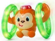 Bright Starts - Roll & Glow Monkey - 20% Off
