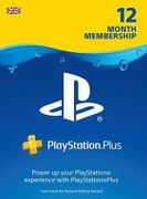 12 Month Playstation plus (UK) PSPlus PSN PS+ 22% Off