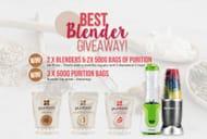 Win 2 X Blenders & 2 X 500g Bags of Puriton