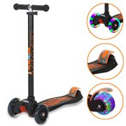 Scooter for Kids 3 Wheel Adjustable Height Scooters with Flashing Wheels