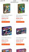 20% off All Lego at B&M Stores!