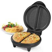 Weight Watchers Omelette Maker, Dual Non-Stick Cooking Plates, Black, 750W
