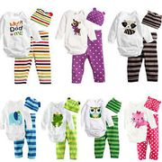Baby Clothes 3packs 0-18months Girls and Boys