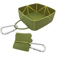 Deal Stack! EasyPets FoldaBowl Dog Travel Bowl (Add Both Colors)