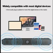 3D HiFi Surround Speakers Sound Bar System with Subwoofer
