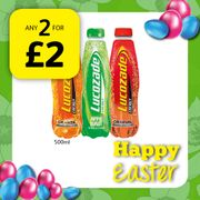 Get 2 for £2 on Lucozade