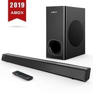 ABOX 2.1 Channel Soundbar & Subwoofer Surround Sound 10% off Exclusive Code