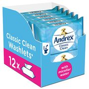 Andrex Washlets, Classic Clean Toilet Tissue W
