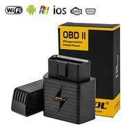 OBD2 OBDII Scanner Wifi Adapter 2019 NEWEST, ELM327 OBD2 Reader