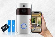 HD Wireless Two-Way Communication Doorbell Camera - 2 Colours!