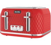 *BETTER than HALF PRICE* BREVILLE Curve 4-Slice Toaster 6 Colours