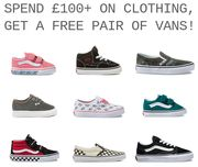 Scout & Co | Free Vans Shoes When You Spend £100+ on Clothing!