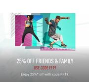 25% Discount at Reebok
